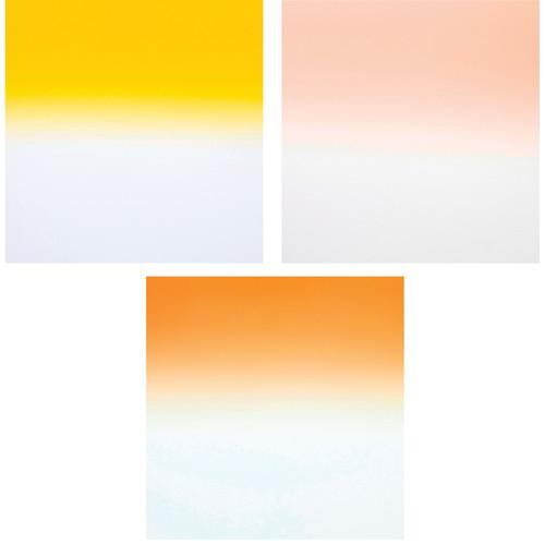 Formatt Hitech Color Grad Camera Filter Kit 2- Tobacco/ Coral/ Straw 2- 100 x 125mm