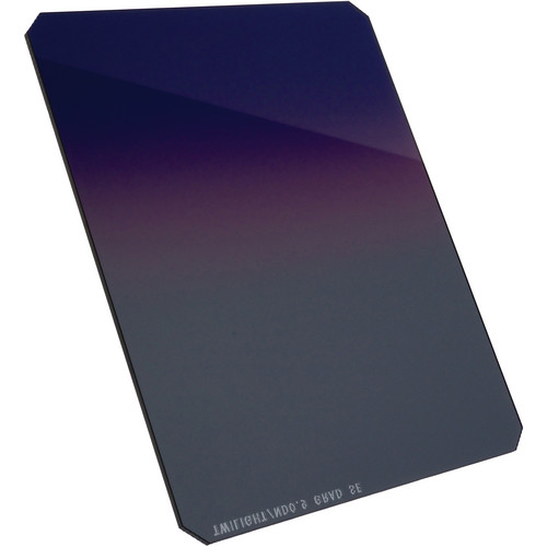 "Formatt Hitech 4 x 5"" Twilight #3/ND 0.6 Hard Graduated Combo Filter"