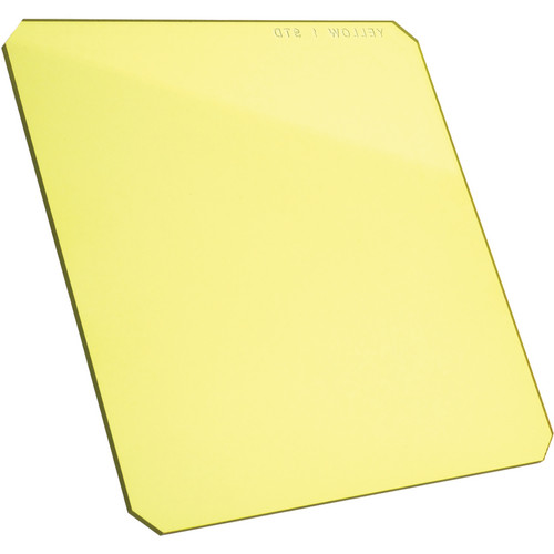 "Formatt Hitech 4 x 4"" Solid Color Yellow 1 Filter"