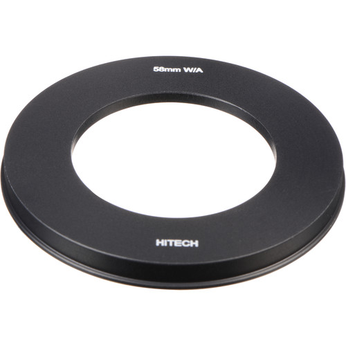 "Formatt Hitech Adapter Ring for 4x4"" Filter Holder - 58mm - for Wide Angle Lenses"