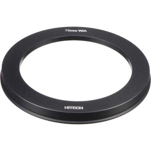 """Formatt Hitech Adapter Ring for 4x4"""" Filter Holder - 72mm - for Wide Angle Lenses"""