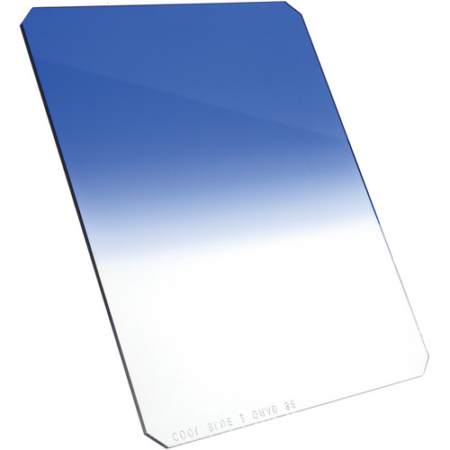 "Formatt Hitech 4x5"" Graduated Cool Blue #2 (80A) Resin Filter"
