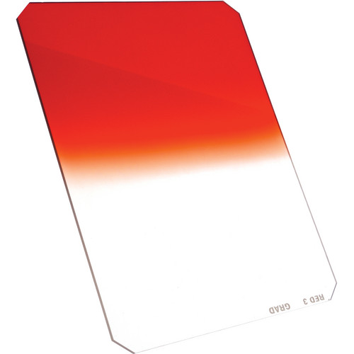 """Formatt Hitech 4x5"""" Graduated Red #2 Resin Filter"""
