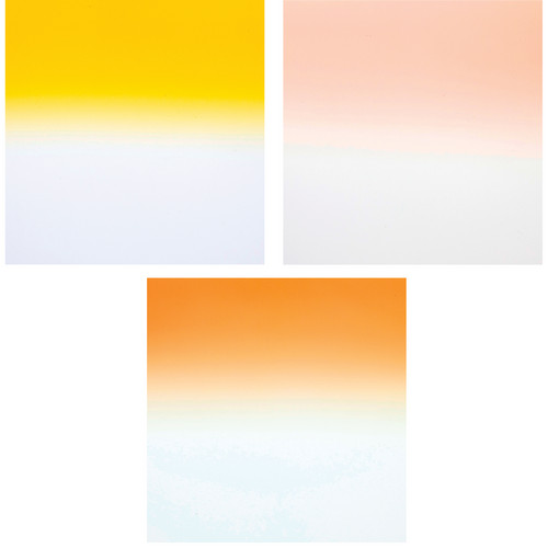 Formatt Hitech Color Grad Camera Filter Kit 2- Tobacco/ Coral/ Straw 2- 100 x 150mm