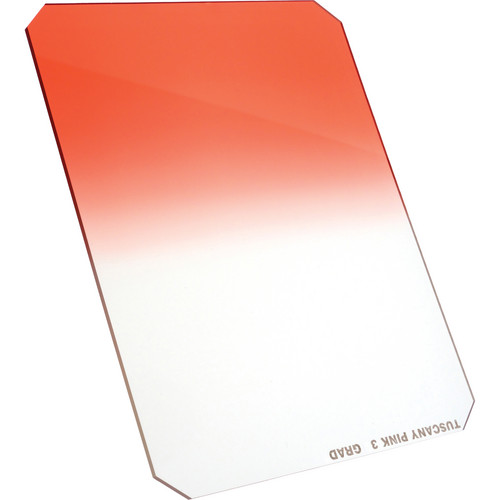 "Formatt Hitech 4 x 6"" Graduated Tuscany Pink 3 Filter"
