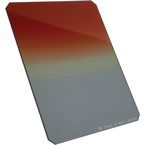 "Formatt Hitech 4x6"" Combination Graduated Sunset #3 / Graduated Neutral Density 0.9 Resin Filter"