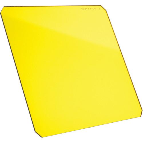 """Formatt Hitech 4x4"""" Yellow #8 Resin Filter for Black & White Film"""