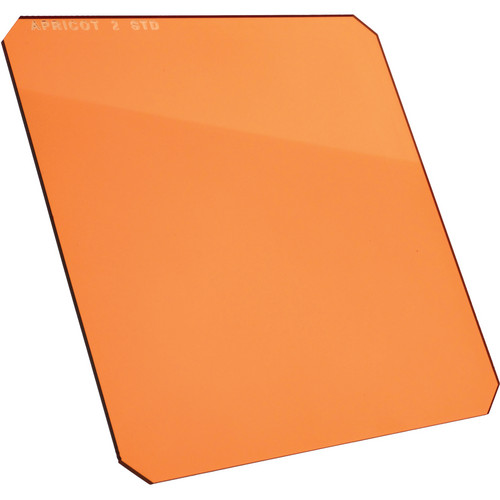 "Formatt Hitech 6.5 x 6.5"" Solid Color Apricot 1 Filter"