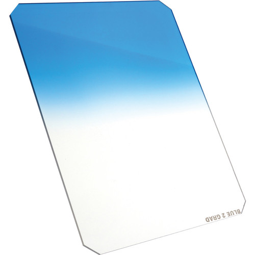 Formatt Hitech 165 x 200mm Blue #2 Hard Graduated Filter