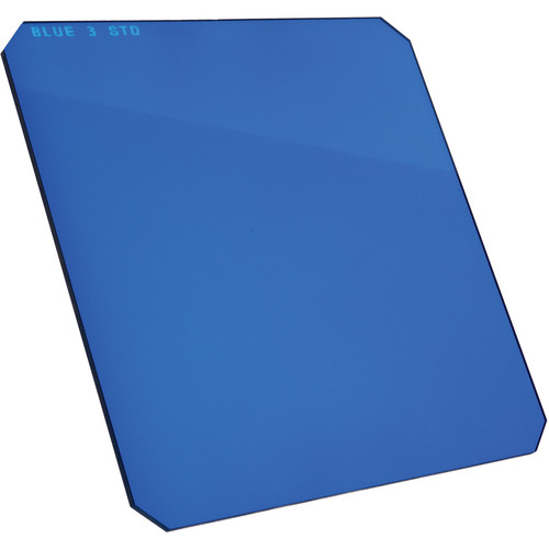 "Formatt Hitech 6.5 x 6.5"" Solid Color Blue 3 Filter"