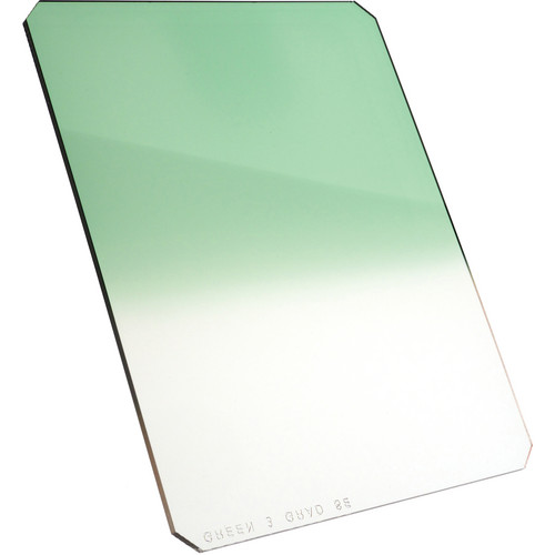 "Formatt Hitech 6.5 x 8"" Graduated Green 3 Filter"