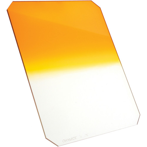 "Formatt Hitech 6.5 x 8"" Graduated Orange 1 Filter"