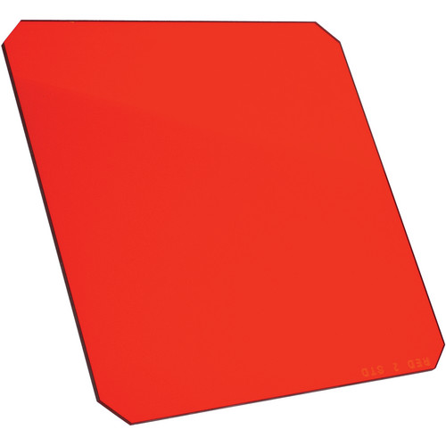 "Formatt Hitech 6.5 x 6.5"" Solid Color Red 3 Filter"