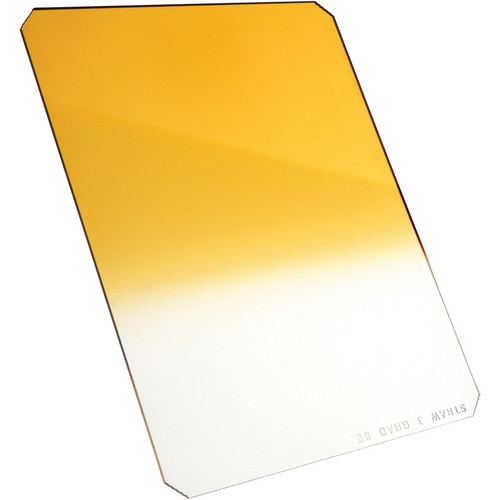 Formatt Hitech 165 x 200mm Straw #3 Hard Graduated Filter