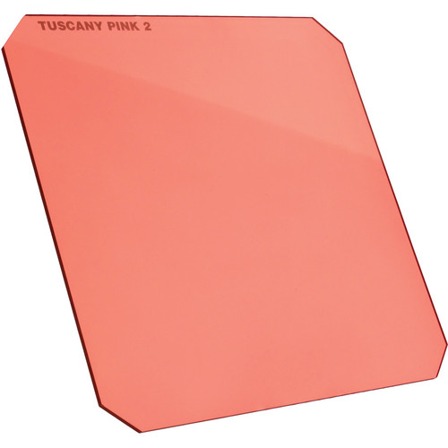 "Formatt Hitech 6.5 x 6.5"" Solid Color Tuscany Pink 1 Filter"