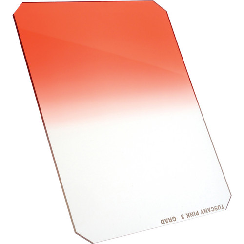 Formatt Hitech 165 x 200mm Tuscany Pink #3 Hard Graduated Filter