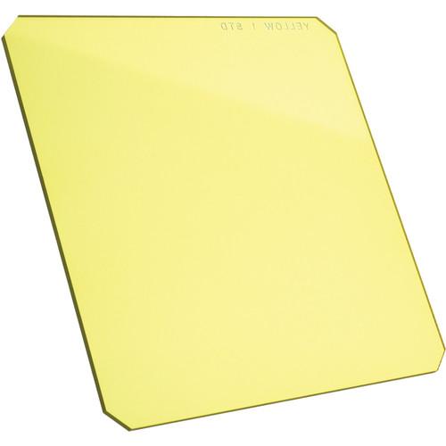 "Formatt Hitech 6.5 x 6.5"" Solid Color Yellow 1 Filter"