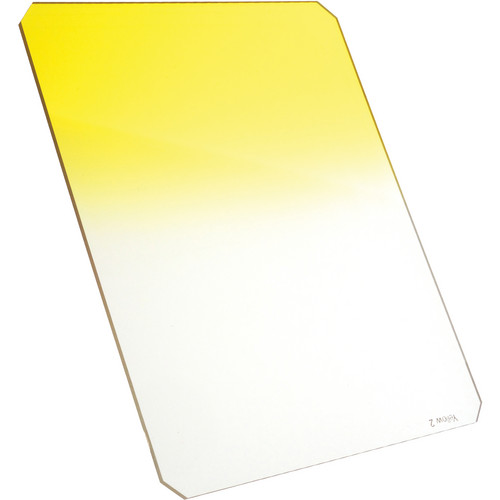 Formatt Hitech 165 x 200mm Yellow #2 Hard Graduated Filter