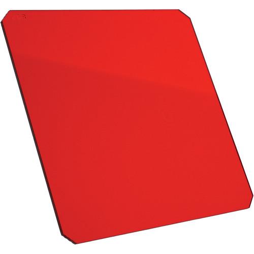 """Formatt Hitech 4x4"""" Red #25 Resin Filter for Black & White Film"""
