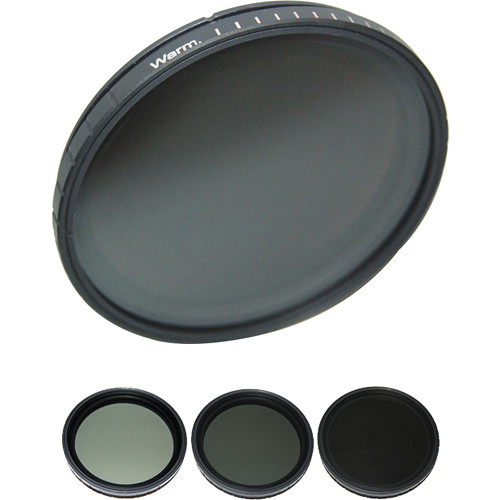 Formatt Hitech 58mm Multistop and Warm2Cool Filter Kit