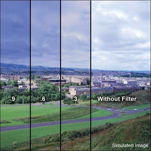 Formatt Hitech 85 x 110mm 81C/ND 0.9 Soft Graduated Combo Filter