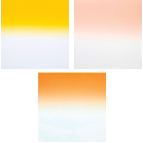 Formatt Hitech Color Grad Camera Filter Kit 2- Tobacco/ Coral/ Straw 2- 85 x 110mm