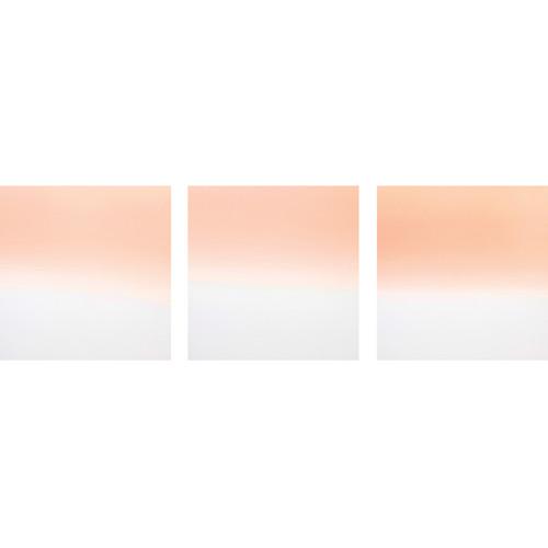 Formatt Hitech Color Graduated Camera Filter Kit 4 - Coral 1/ 2/ 3 - 85 x 110mm