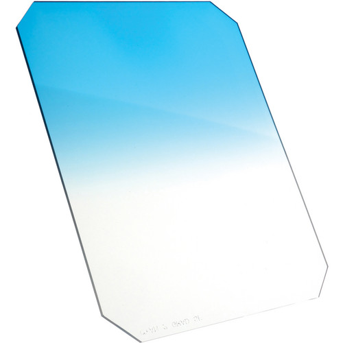 Formatt Hitech 150 x 170mm Soft Edge Cooling Color Graduated Neutral Density Filter (Cyan 1)