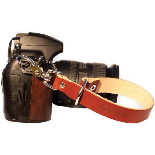 HoldFast Gear Camera Leash (English Bridle, Chestnut)