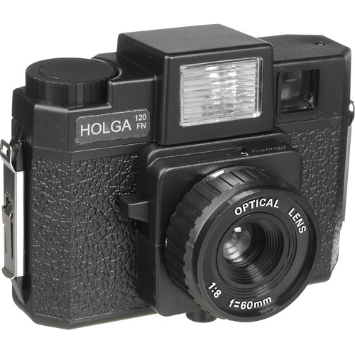 Holga 120FN Medium Format Camera (Black)