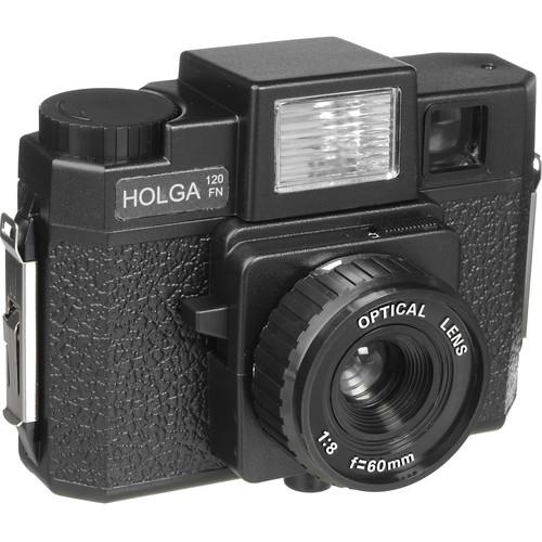 Holga 120FN Medium Format Camera (Black)