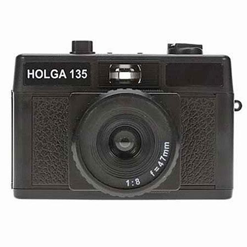 Holga 135 Plastic 35mm Camera (Black)