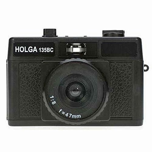 Holga 135BC 35mm Camera with Built-in Lens and Black Corners