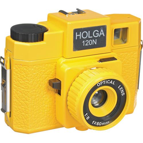 Holga 176-120  Holgawood 120N Medium Format Camera (Yellow Brick Road)