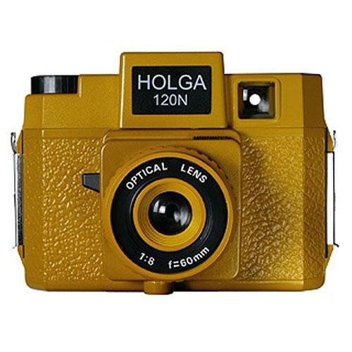 Holga 185-120  Holgawood 120N Medium Format Camera (Sunset Boulevard)