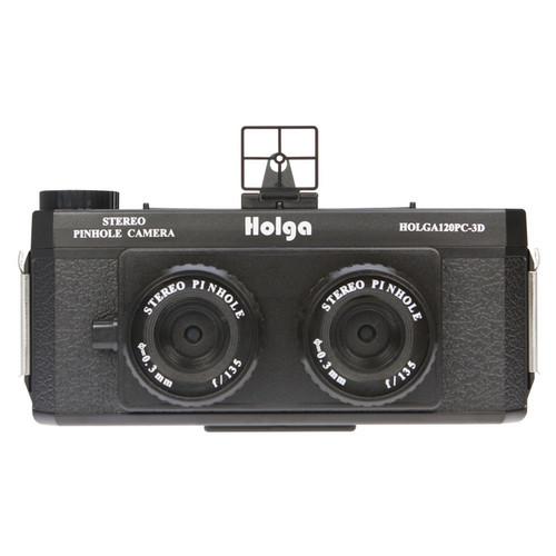 Holga 120PC-3D Stereo Pinhole Camera
