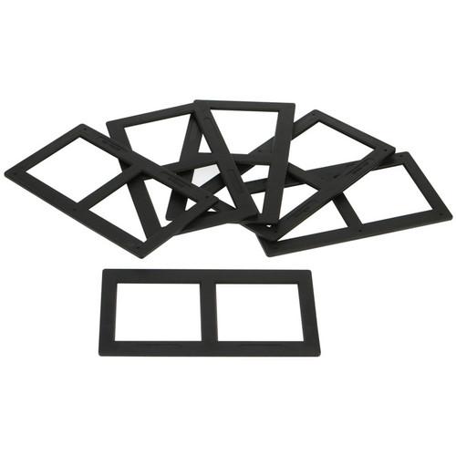 Holga 120-3DSM 6 x 6cm 3D Stereo Slide Mounts (6 Pack)