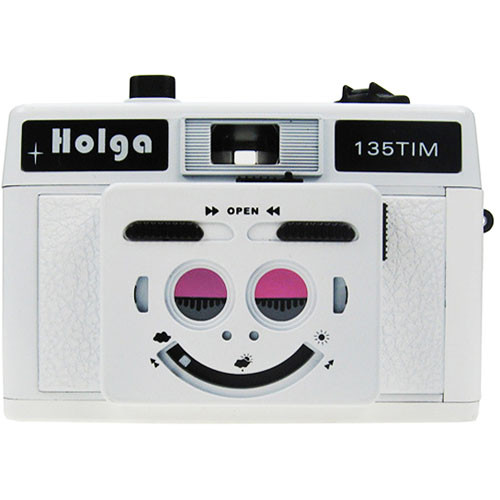 Holga 135 TIM 35mm 1/2 Frame Twin/Multi-Image Camera (White)