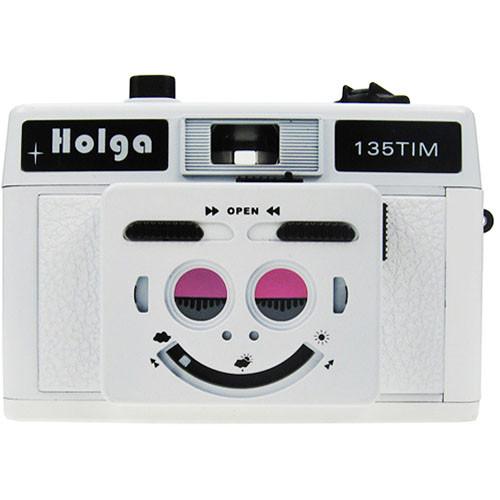 Holga 135 TIM 35mm 1/2 Frame Twin/Multi-Image Camera (White)