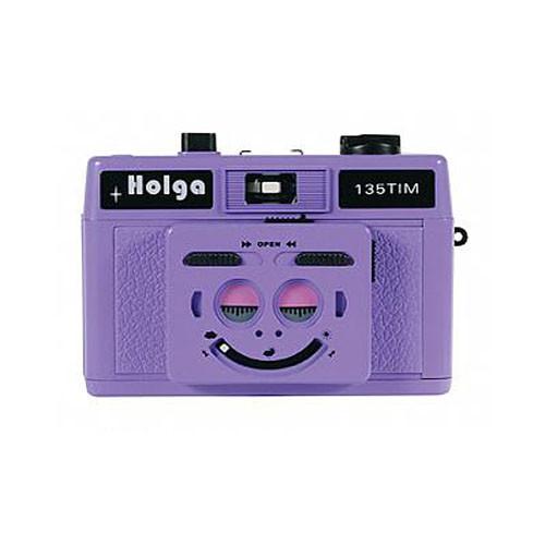 Holga 135 TIM 35mm 1/2 Frame Twin/Multi-Image Camera (Violet)