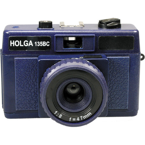 Holga HolgaGlo 135BC Glows in the Dark Camera (Ultra Violet)