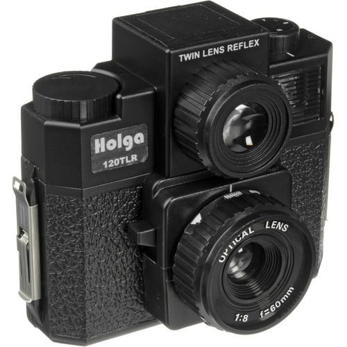 Holga 120 TLR Medium Format Plastic Camera (Black)