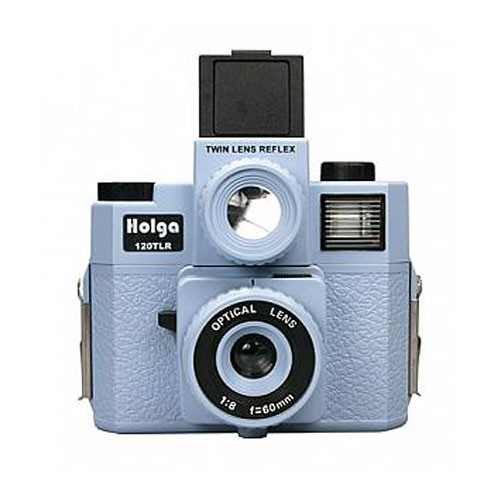 Holga 120 TLR Medium Format Plastic Camera (Light Blue)