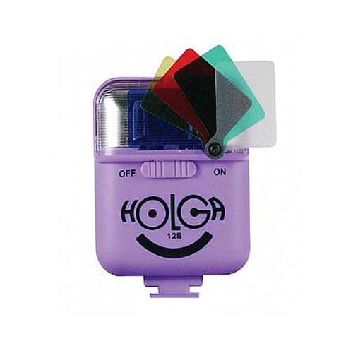 Holga 12S Flash for 135TIM (Violet)