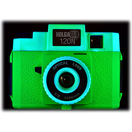 Holga Holga Glo 120N Plastic Medium Format Camera (Neon Green)