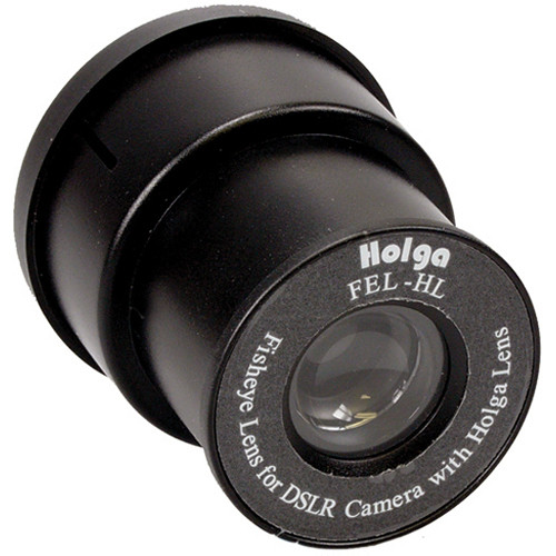 Holga Fisheye Lens for DSLR Lens