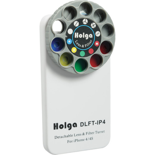 Holga Lens Filter and Case Kit for iPhone 4/4S (White)