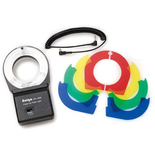 Holga Close-Up Ring Flash CFL-500 for Holga Cameras