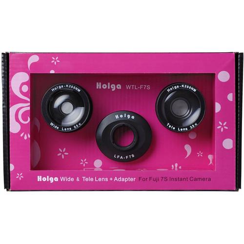 Holga WTL-F7S Tele & Wide Lens Kit