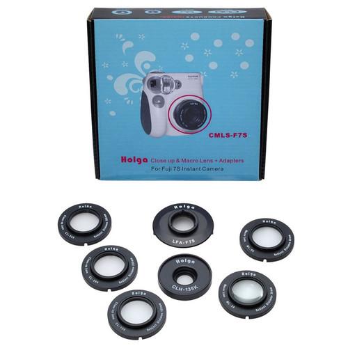Holga CMLS-F7S Close-Up & Macro Lens Kit for Fujifilm Instax Mini 7s